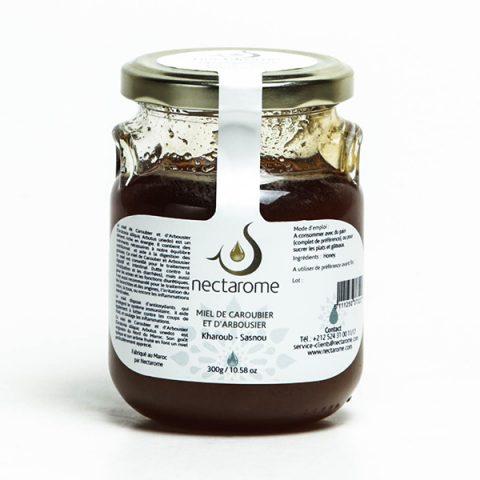 miel caroubier arbousier nectarome kharoub sasnou